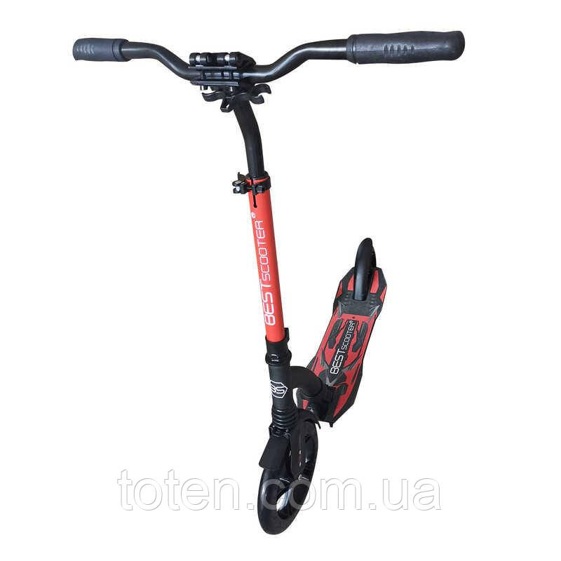 Самокат Best Scooter 74297. красный