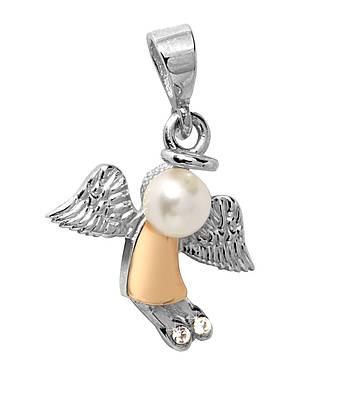 Серебряная подвеска Ангел 365п