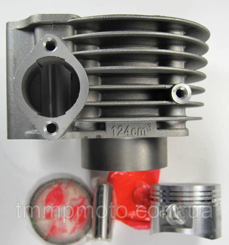 Цилиндр в сборе YABEN-125 см3 (ЦПГ 125) ТММР