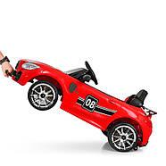 Детский электромобиль Mercedes AMG M 4105EBLR-3 Красный Гарантия качества Быстрая доставка, фото 7