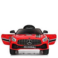 Детский электромобиль Mercedes AMG M 4105EBLR-3 Красный Гарантия качества Быстрая доставка, фото 5