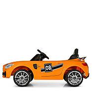 Детский электромобиль Mercedes AMG M 4105EBLR-7 Оранжевый Гарантия качества Быстрая доставка, фото 4