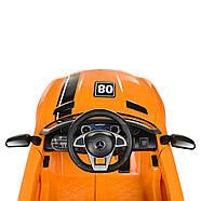 Детский электромобиль Mercedes AMG M 4105EBLR-7 Оранжевый Гарантия качества Быстрая доставка, фото 6