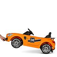 Детский электромобиль Mercedes AMG M 4105EBLR-7 Оранжевый Гарантия качества Быстрая доставка, фото 3