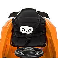 Детский электромобиль Mercedes AMG M 4105EBLR-7 Оранжевый Гарантия качества Быстрая доставка, фото 5