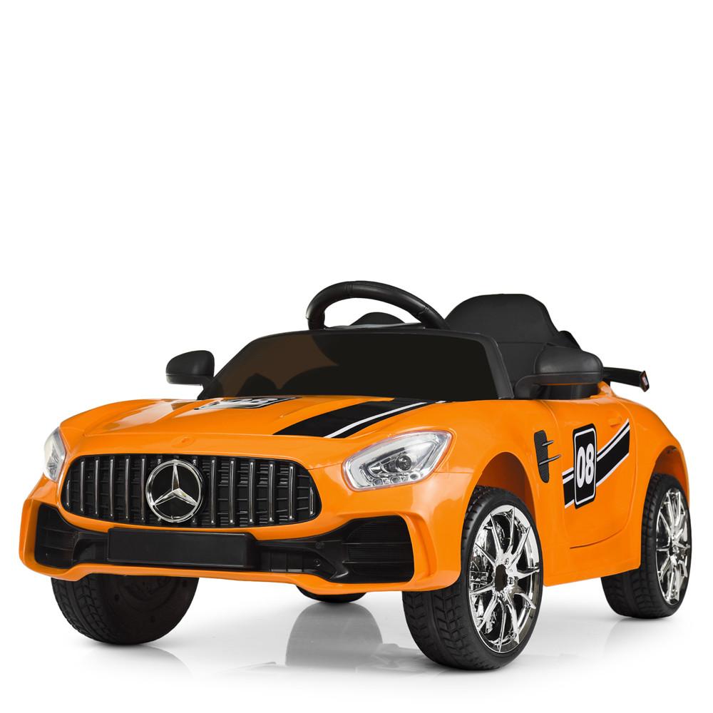Детский электромобиль Mercedes AMG M 4105EBLR-7 Оранжевый Гарантия качества Быстрая доставка