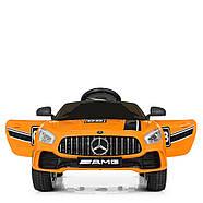 Детский электромобиль Mercedes AMG M 4105EBLR-7 Оранжевый Гарантия качества Быстрая доставка, фото 2