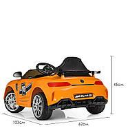 Детский электромобиль Mercedes AMG M 4105EBLR-7 Оранжевый Гарантия качества Быстрая доставка, фото 7