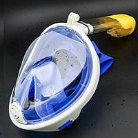 Маска для снорклинга, маска для подводного плавания  L/XL . (205)