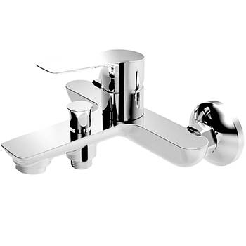 Смеситель для ванны, хром, 35 мм, KUCERA Imprese