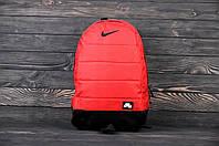 Рюкзак Nike (Найк) мужской | женский Красный спортивный