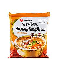 Локшина швидкого приготування з грибами та водоростями AnSungTangMyun Nong Shim 125 г
