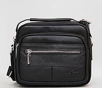 Стильна чоловіча сумка в руку і через плече / Стильная мужская сумка в руку и через плечо Lead Hake