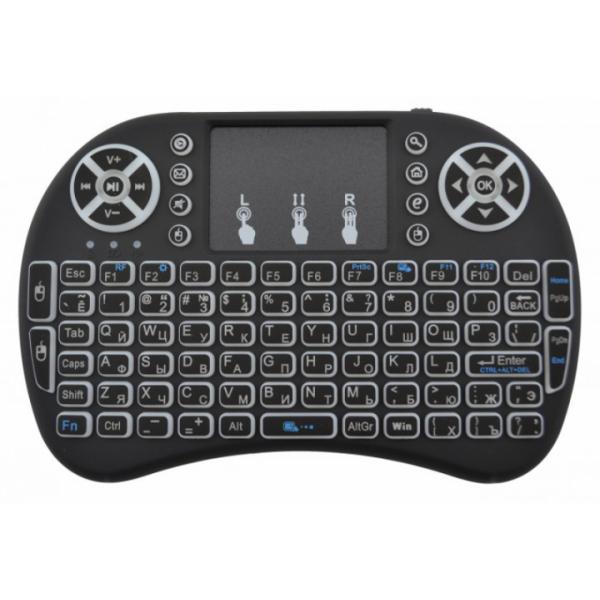 Беспроводная клавиатура с тачпадом и подсветкой Backlit