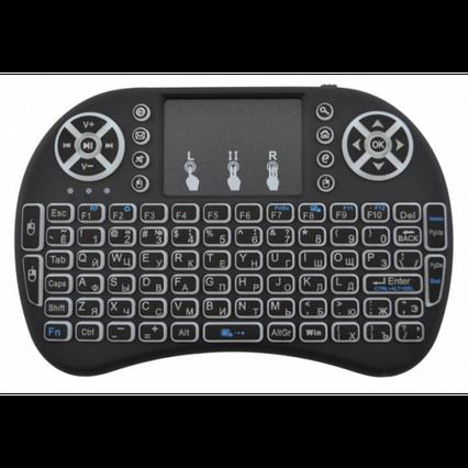 Беспроводная клавиатура с тачпадом и подсветкой Backlit, фото 2
