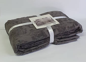 Покрывало Maison D'or Махровое Sanda 160х240 Dark Grey