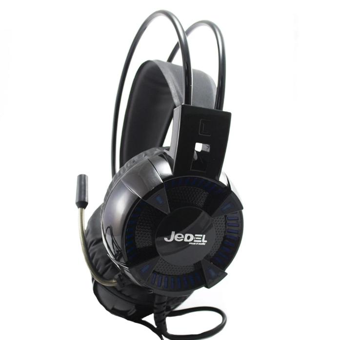 Наушники для геймеров с микрофоном, наушники для компьютера JEDEL GH160