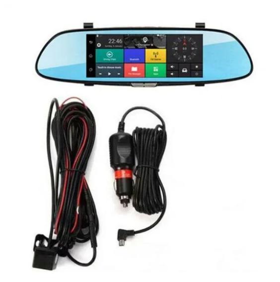 Автомобильный видеорегистратор зеркало Car DVR H10 1080P с камерой заднего вида