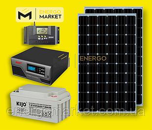 Автономная солнечная станция 600 Вт