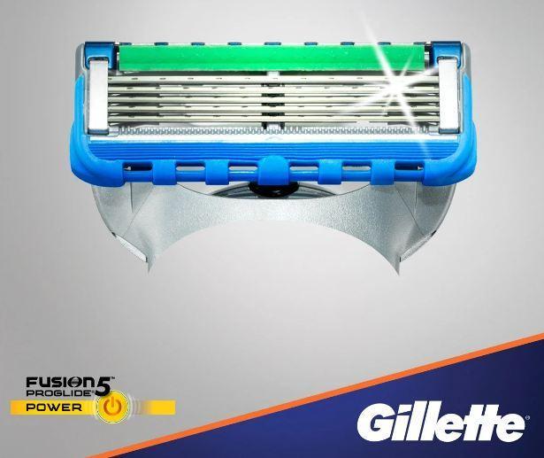 Сменная кассета Gillette Fusion Proglide power