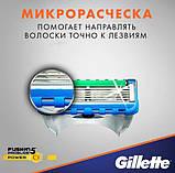 Сменная кассета Gillette Fusion Proglide power, фото 5