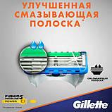 Сменная кассета Gillette Fusion Proglide power, фото 4