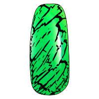 NE-6T Трескающийся лак для ногтей №10 (зеленый)