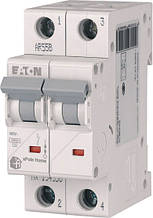 Выключатель автоматический двухполюсный HL-C63/2 Eaton