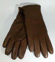 Перчатки утепленные кожаные коричневые Brown Gloves MKII, армии Великобритании, б/у, фото 1