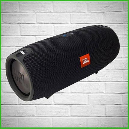 Беспроводная портативная акустичиская система Bluetooth колонка сабвуфер JBL Xtreme mini Черная, фото 2