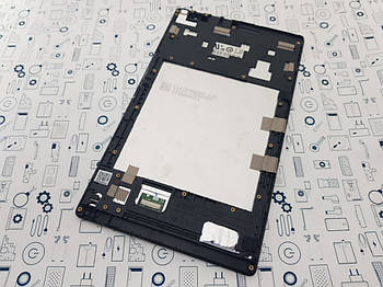 Дисплей Asus Z380KL модуль в сборе черный Сервисный оригинал з разборки