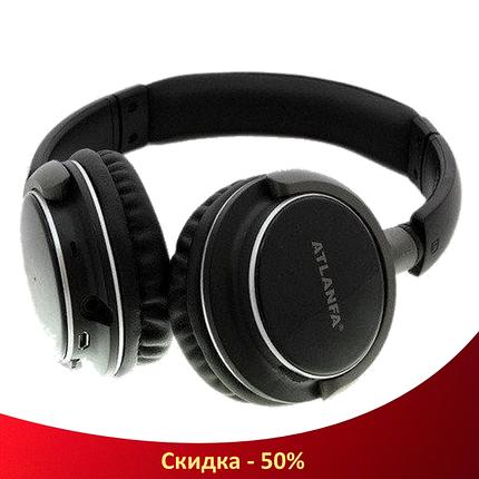 Беспроводные наушники ATLANFA AT-7612 - Bluetooth стерео наушники с MP3 плеером и FM радио (R32), фото 2