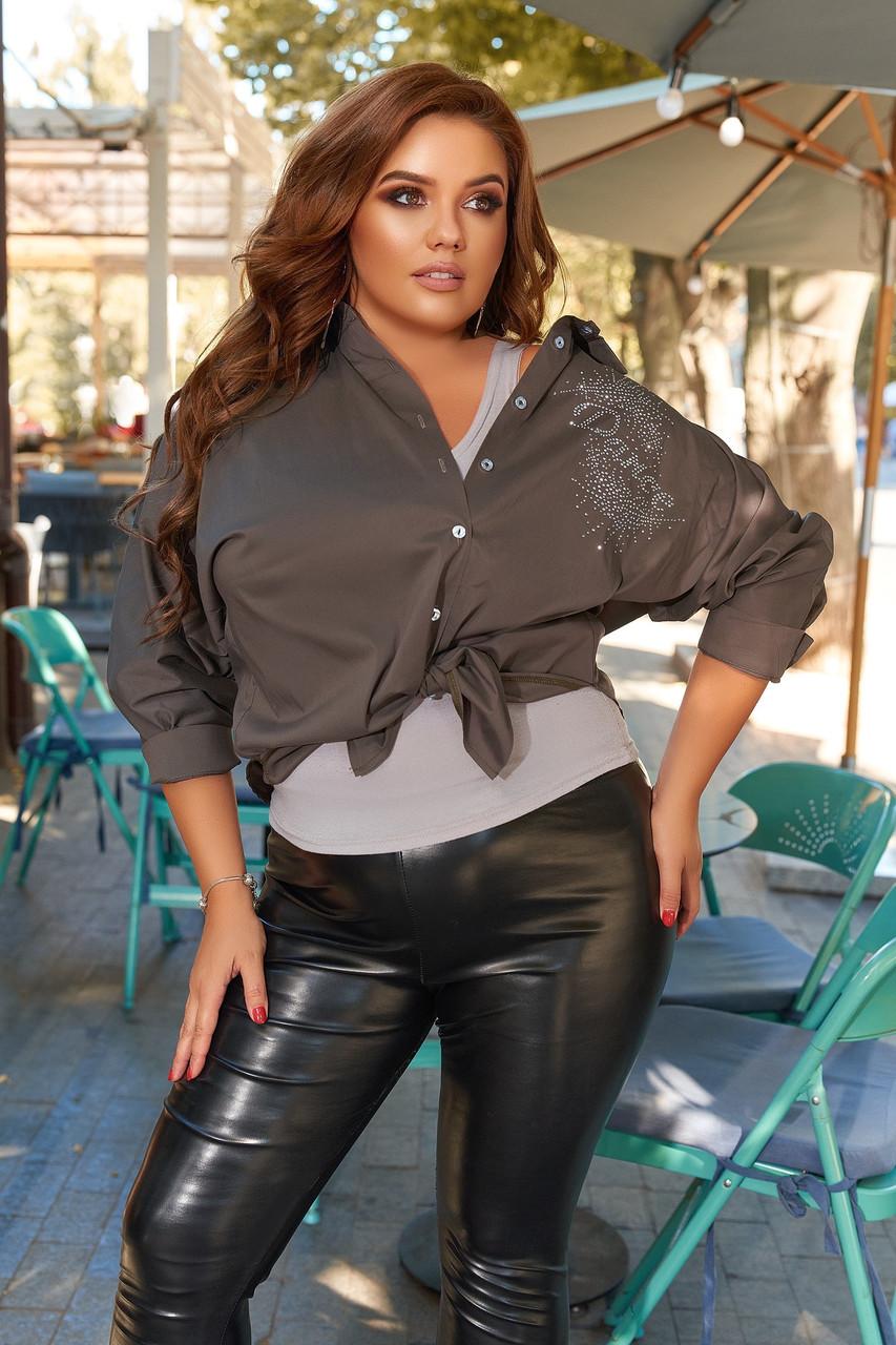 Рубашка женская 1097ти батал