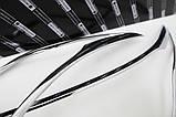 Хром накладки на фары KIA Sorento 2012-2014 (Autoclover C462), фото 7