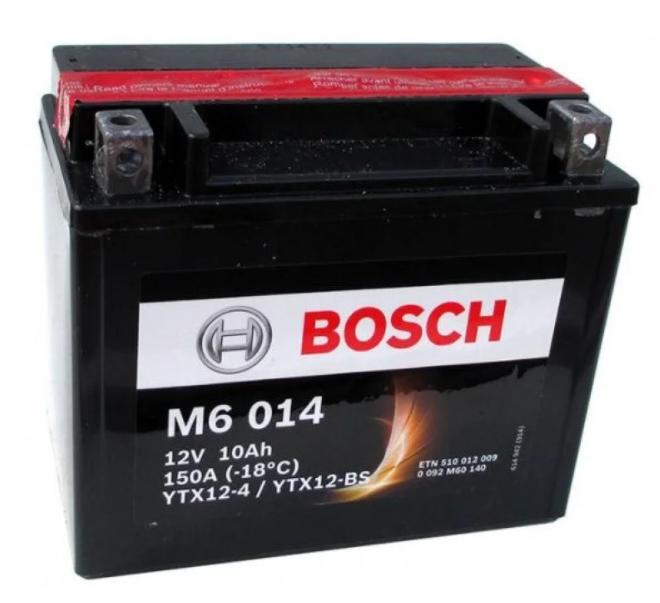 Мото Аккумулятор BOSCH YTX12-BS 12v 10Ah 150A