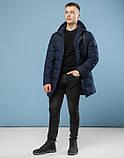 11 Kiro Tokao | Зимняя теплая куртка 6005 темно-синий, фото 3