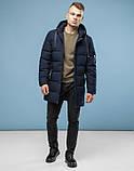 11 Kiro Tokao | Куртка зимняя с капюшоном 6007 темно-синий, фото 2