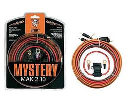 Набор кабелей для подключения усилителя Mystery MAK 2.10 (2 канала)