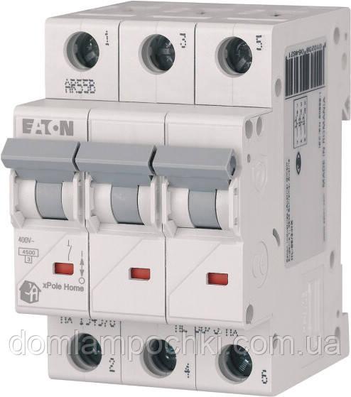 Выключатель автоматический трехполюсный HL-C6/3 Eaton