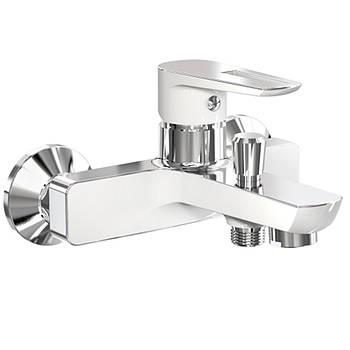 Смеситель для ванны, хром/белый, 35 мм, BRECLAV Imprese