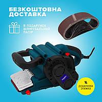 Ленточная шлифовальная машина Зенит ЗЛШ - 1000 профи / 1000 вт / 3 года гарантия