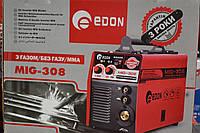 Зварювальний напівавтомат Edon MIG 308, 2в1, фото 1