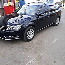Дефлектори вікон (вітровики) VW Passat B6/В7 2005 -> 4D Combi 4шт (Heko)