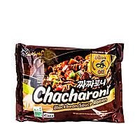 Локшина швидкого приготування з соусом з чорних соєвих бобів Chacharoni SamYang 140 г