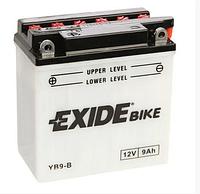 Мото Аккумулятор EXIDE EB9-B / YB9-B 12v 9Ah 85A