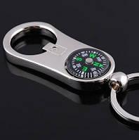 Брелок открывалка с мини компасом SKU0000193