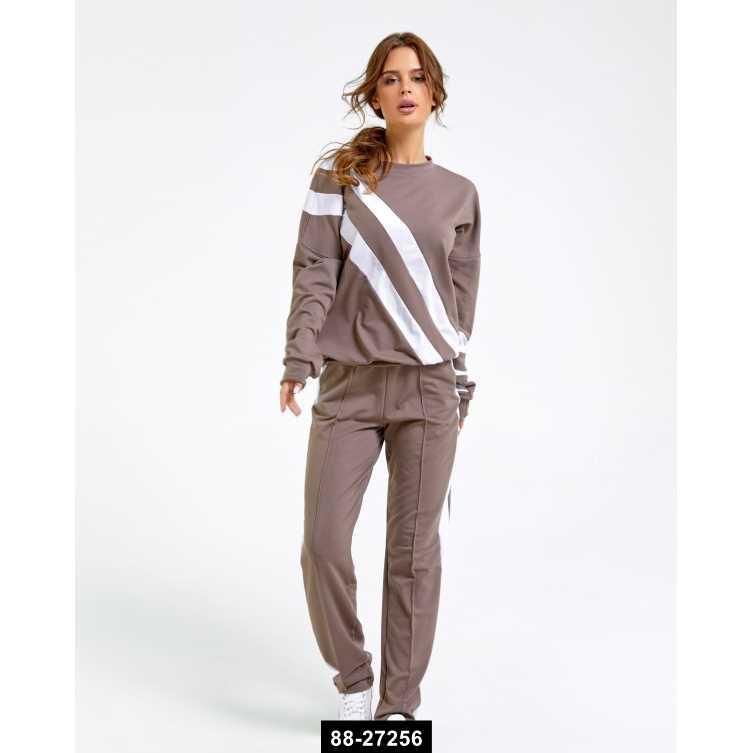 Женский спортивный костюм, L-S международный размер, 88-27256