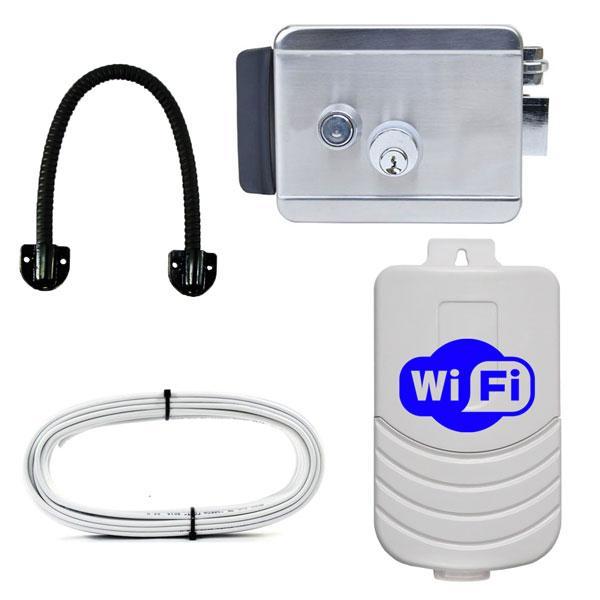 Wi-Fi электромеханический замок ЕЛ100-Смарт