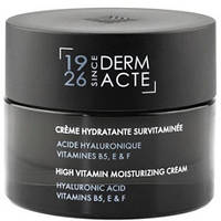 Увлажняющий крем для лица Академи Витаминизированный увлажняющий Crème Hydratante Survitaminée DermActe 50мл