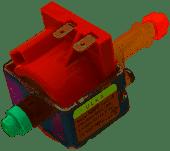 Помпа (насос) для кофемашин ULKA 16W NME Type 4 пластиковые выхода